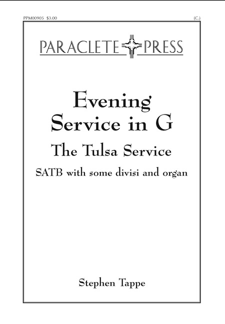 Evening Service in G the Tulsa Service
