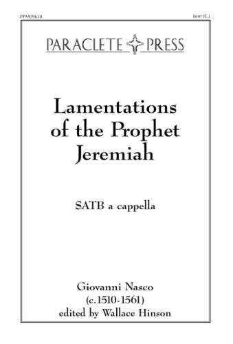 Lamentations of the Prophet Jeremiah