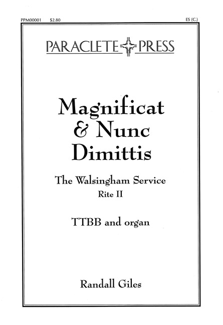 Magnificat and Nunc Dimittis Walsingham Service
